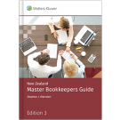 New Zealand Master Bookkeepers Guide, 3rd Edition