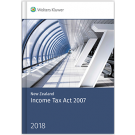 New Zealand Income Tax Act 2007, 2018 Edition