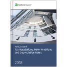 New Zealand Tax Regulations, Determinations and Depreciation Rates 2018