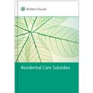 Residential Care Subsidies Handbook