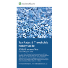 Tax Rates & Thresholds Handy Guide 2018/19