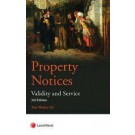 Property Notices: Validity and Service, 3rd Edition