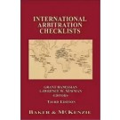 International Arbitration Checklists, 3rd Edition