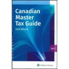 Canadian Master Tax Guide 2017 (72nd Edition)