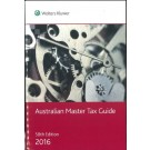 Australian Master Tax Guide 2016, 58th Edition