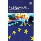 EU Consumer Law and Policy, 2nd Edition
