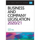 CLP Legal Practice Guides: Business and Company Legislation 2020/21