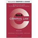 Concentrate Q&A: Criminal Law, 3rd Edition