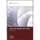 Australian Master GST Guide 2018 (19th Edition)