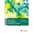 The Law of Misleading or Deceptive Conduct, 5th Edition