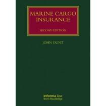 Marine Cargo Insurance, 2nd Edition