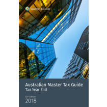 Australian Master Tax Guide: Tax Year End Edition (63rd Edition)