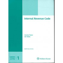 Internal Revenue Code: Income, Estate, Gift, Employment and Excise Taxes (Summer 2016)