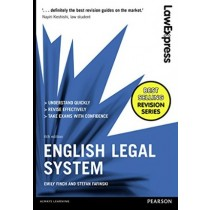 Law Express: English Legal System, 6th Edition