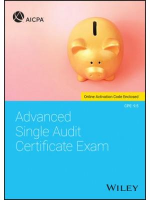 Advanced Single Audit Certificate Exam