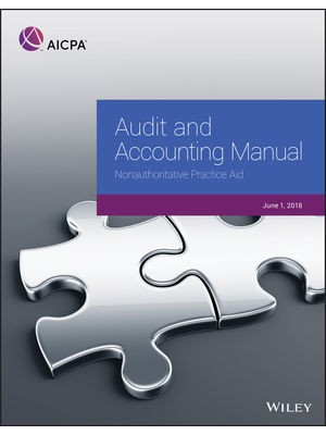 Audit and Accounting Manual: Authoritative Practice Aid, 2018