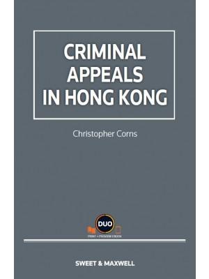 Criminal Appeals in Hong Kong