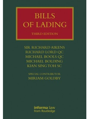 Bills of Lading, 3rd Edition
