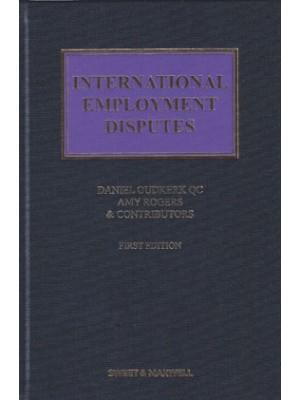 International Employment Law Disputes
