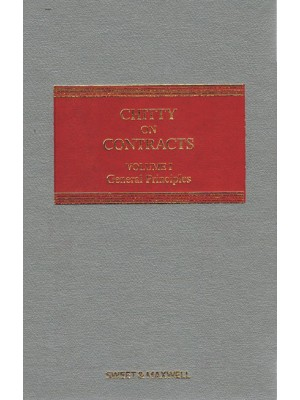 Chitty on Contracts, 33rd Edition (Volume 1 only) (General Principles)
