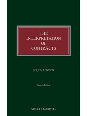 The Interpretation of Contracts, 7th Edition