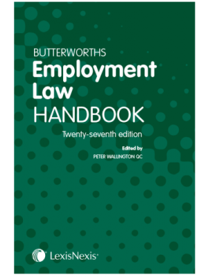 Butterworths Employment Law Handbook 2020