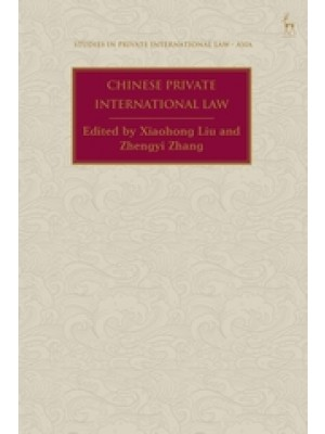 Chinese Private International Law