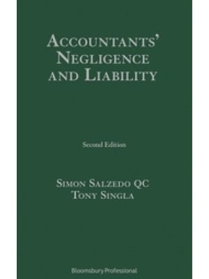 Accountants' Negligence and Liability, 2nd Edition