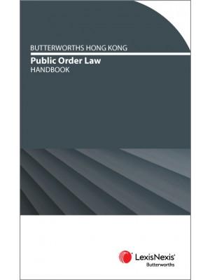 Butterworths Hong Kong Public Order Handbook