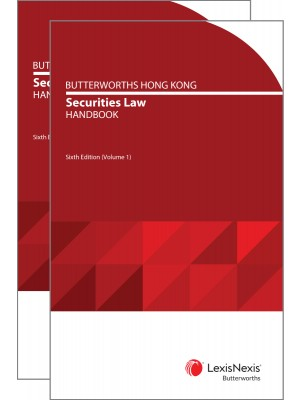 Butterworths Hong Kong Securities Law Handbook, 6th Edition