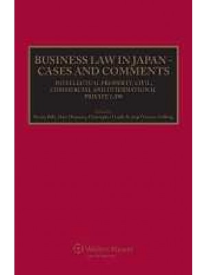Business Law in Japan - Cases and Comments