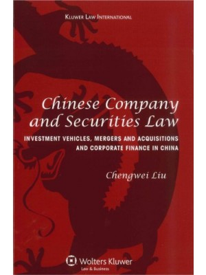 Chinese Company and Securities Laws