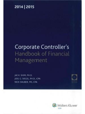Corporate Controller's Handbook of Financial Management (2016-2017)