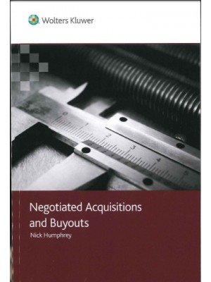 Negotiated Acquisitions and Buyouts