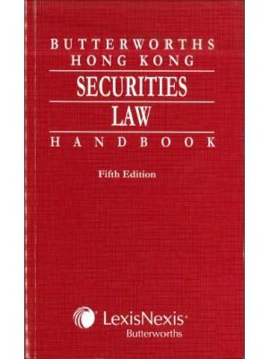 Butterworths Hong Kong Securities Law Handbook, 5th Edition
