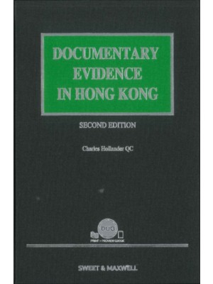 Documentary Evidence in Hong Kong, 2nd Edition (Hardcopy + e-Book)