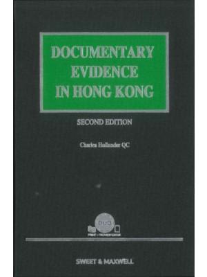 Documentary Evidence in Hong Kong, 2nd Edition (Hardcopy + e-Book)