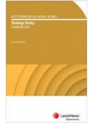 Butterworths Hong Kong Stamp Duty Handbook, 2nd Edition