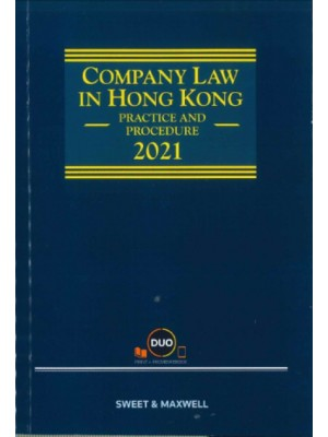 Company Law in Hong Kong: Practice and Procedure 2021 (Hardcopy + e-Book)