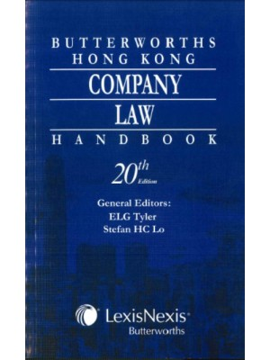 Butterworths Hong Kong Company Law Handbook, 20th Edition
