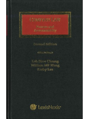 Company Law: Powers and Accountability, 2nd Edition