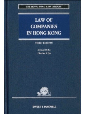 Law of Companies in Hong Kong, 3rd Edition