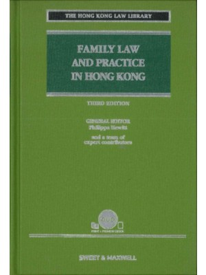 Family Law and Practice in Hong Kong, 3rd Edition