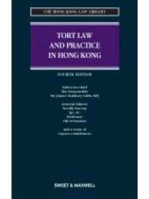 Tort Law and Practice in Hong Kong, 4th Edition